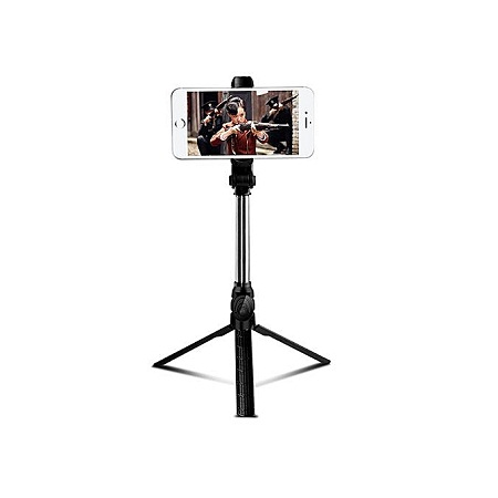 Selfie Stick Bluetooth, Extendable Selfie Stick Tripod with Wireless Remote for Smartphone