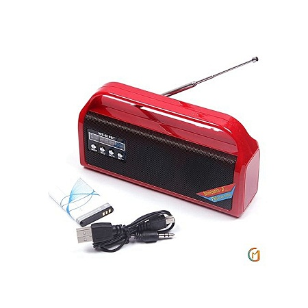 Wster WS-618BT Portable Bluetooth Radio Speaker