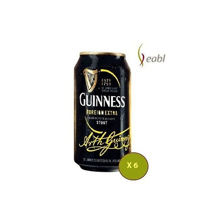 Guinness Stout Can - 6 Pack of 500 ml each