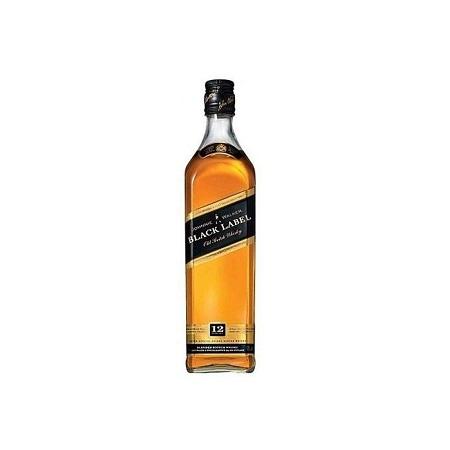 Johnnie Walker Black Label Premium Scotch Whisky (12 years) - 750ml