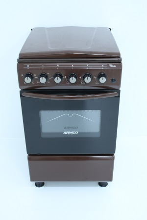 Armco GC-F5531FX(BR) - 3 Gas-1 Electric Cooker - Brown