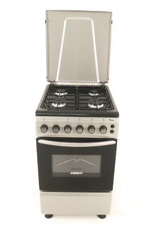 ARMCO GC-F5640PX(SL) - 4Gas, 50X60, Gas Oven Cooker.
