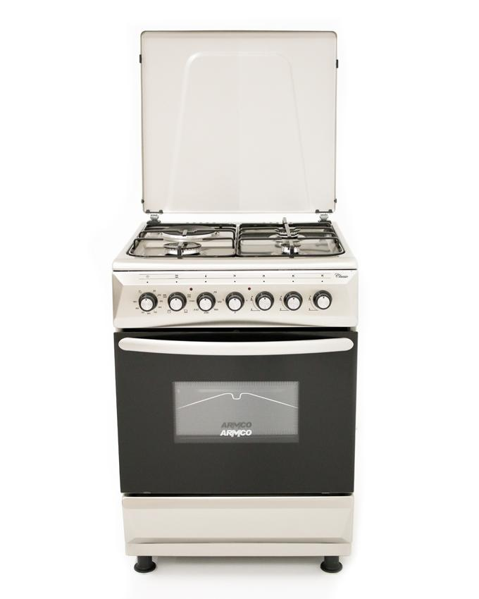 ARMCO GC-F6631FX(SS) - 3 Gas, 1 Electric, 60x60 Gas Cooker.