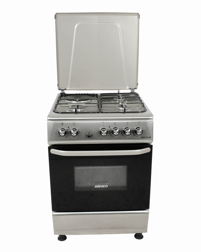 ARMCO GC-F6631PX(SS) - 3 Gas, 1 Electric, 60x60 Gas Cooker.