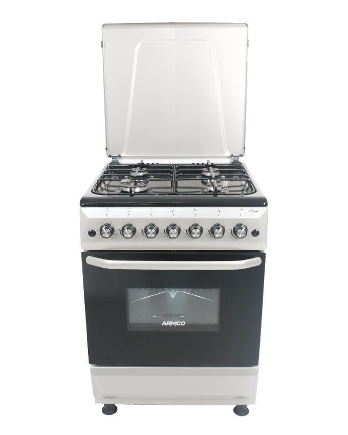 ARMCO GC-F6640FX(SL) - 4 Gas, 60X60 Gas Cooker.