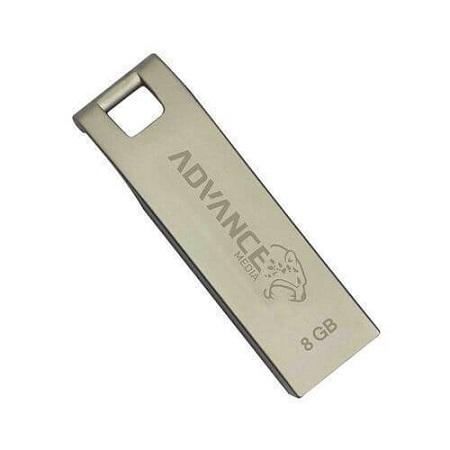 ADVANCE 8GB FLASH DISK- SILVER