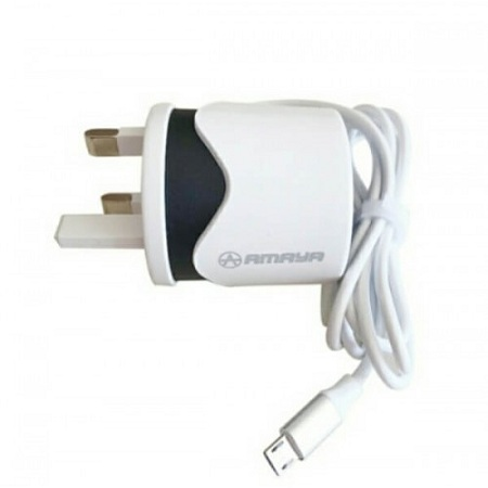 AMAYA TRAVEL CHARGER - WHITE