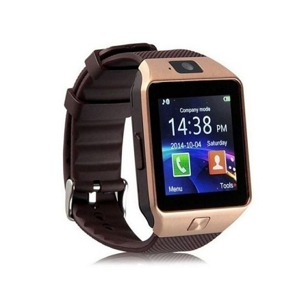 Generic Smart Watch Phone For Android And Apple - Gold
