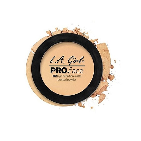L. A. Girl HD Pro Face Matte Pressed Powder - Creamy Natural, 0.25 Oz