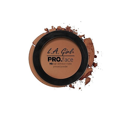 L. A. Girl HD Pro Face Matte Pressed Powder - Cocoa, 0.25 Oz