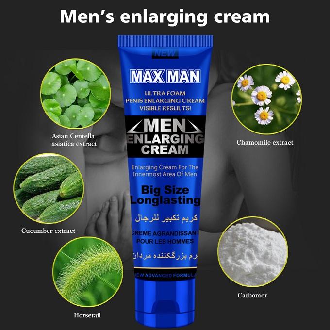 Max Man Ultra Foam Men Penis Enlarging Cream - 50gm