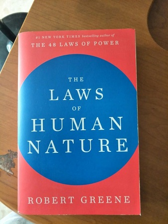 The Laws Of Human Nature Robert Greene (Physical Book)