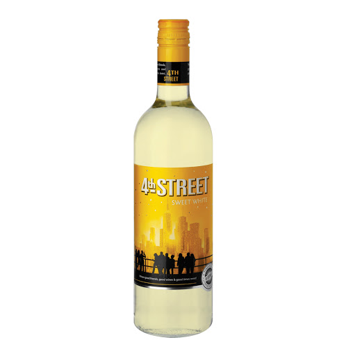 4th Street Sweet WHITE Wine 750ml