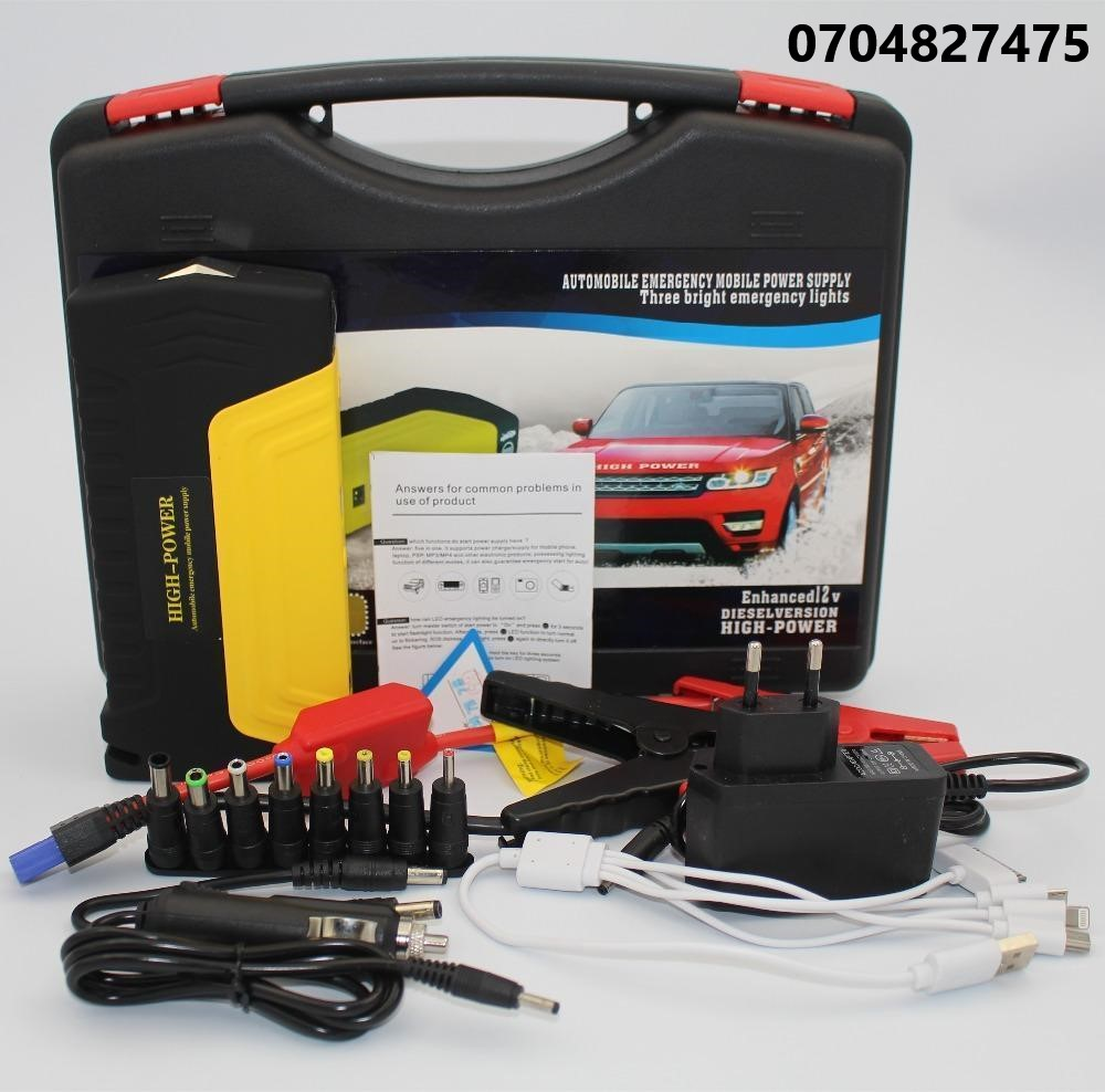 Car Jump Starter Kit and Air Compressor