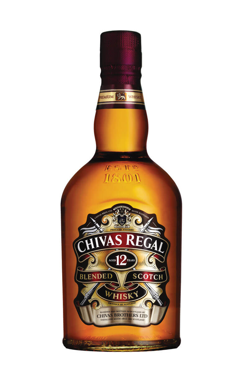 Chivas Regal 12 Years Old Blended Scotch Whisky 750ML