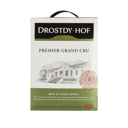 Drostdy Hof Premier Grand Cru Sweet White Wine 5 Liters