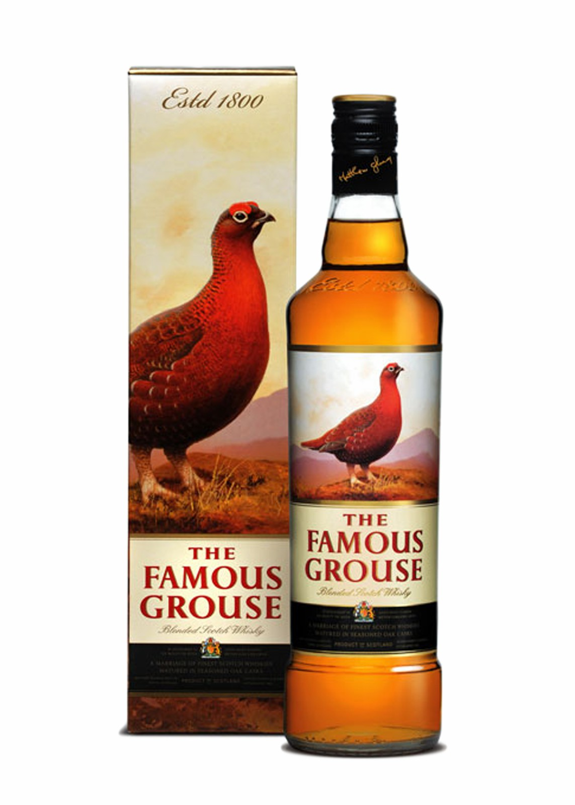 Famous Grouse Blended Scotch Whisky - 1L