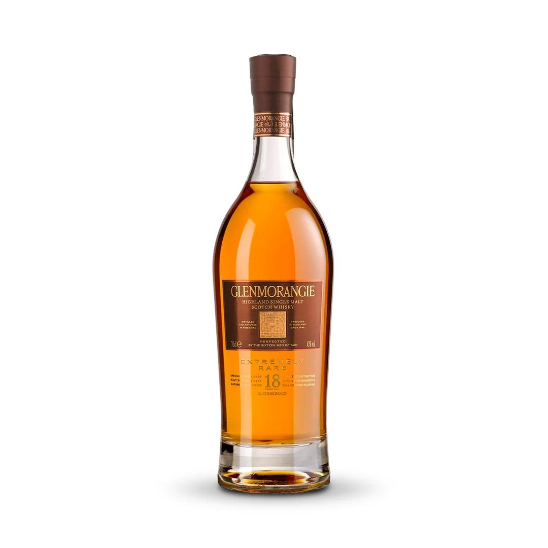 Glenmorangie 18 Year Old Extremely Rare Whisky - 700ML