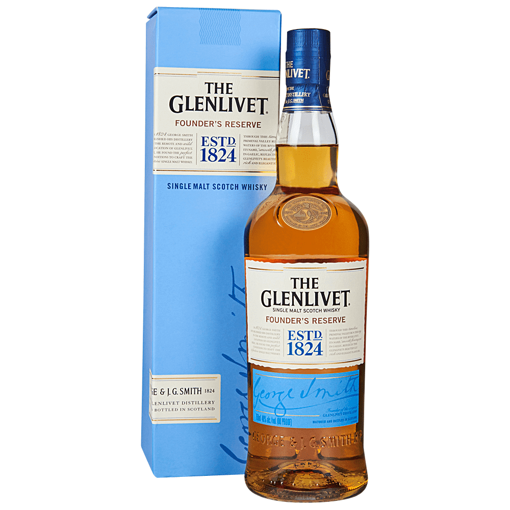 The Glenlivet Founder's Reserve Single Malt Scotch Whisky 1L