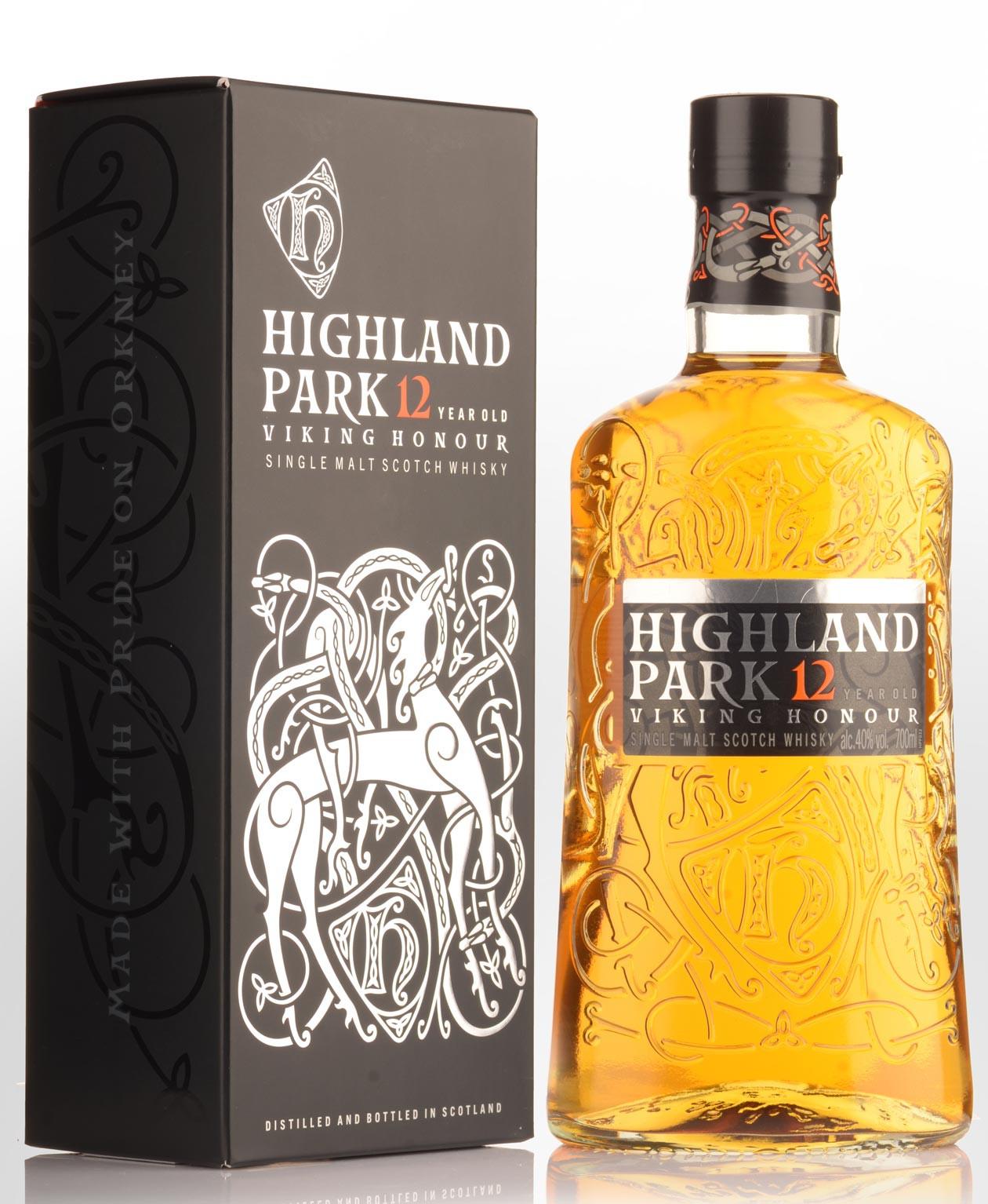 Highland Park 12 Year Old Single Malt Scotch Whisky 750ML