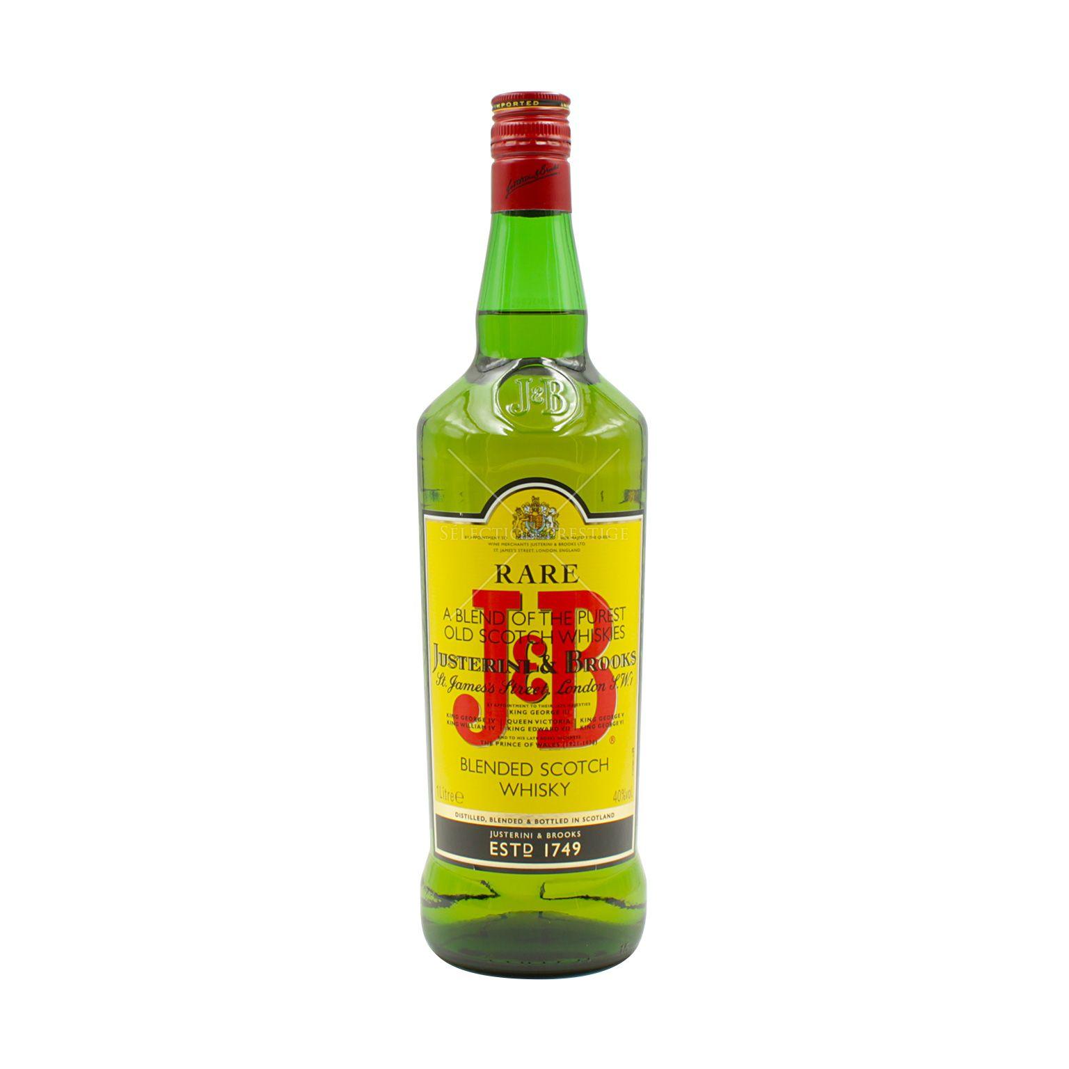 J & B Rare Blended Scotch Whisky 1L