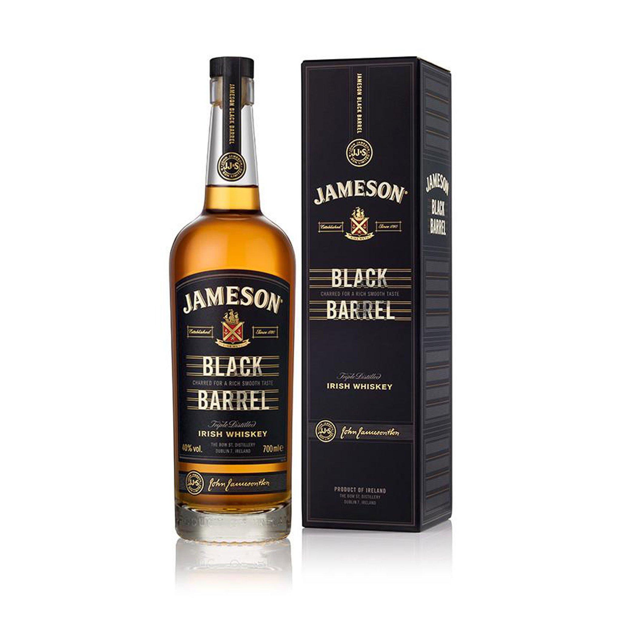 Jameson Black Barrel Triple Distilled Irish Whiskey 700ML