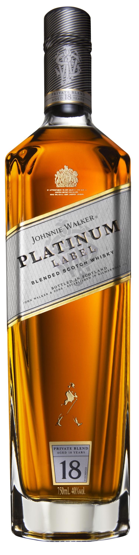 Johnnie Walker 18 Year Old Platinum Label Blended Scotch Whisky  1L