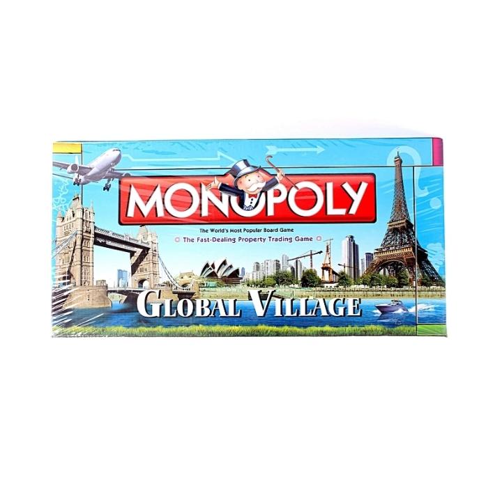 Monopoly Global Village Board Game