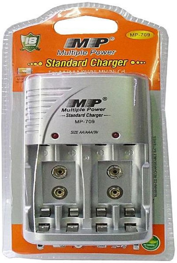 MP 709 Electric Rechargeable Battery Charger