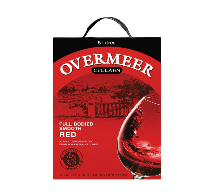 Overmeer Sweet Red Wine 5000ML