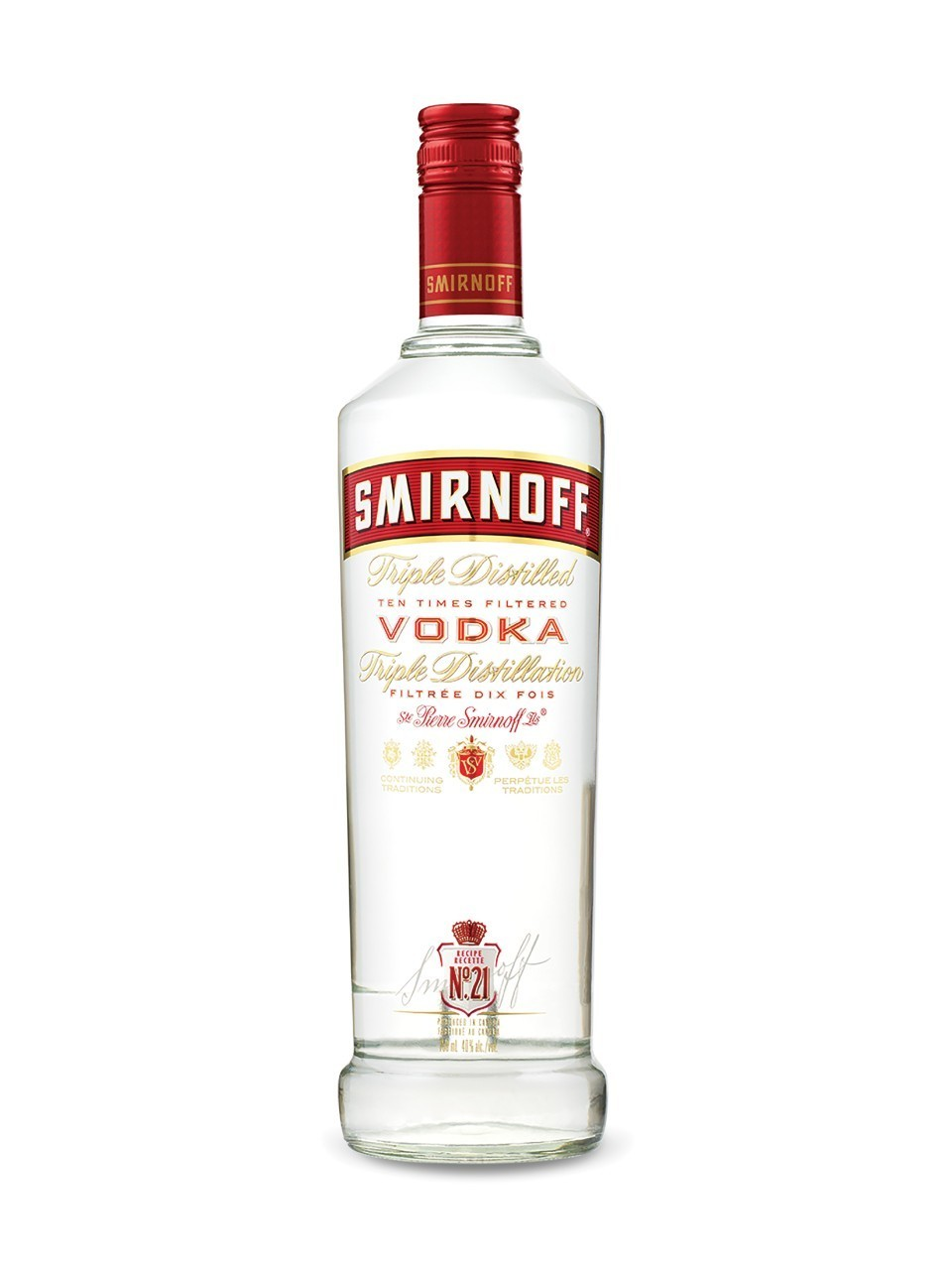 Smirnoff Triple Distilled Vodka 1L
