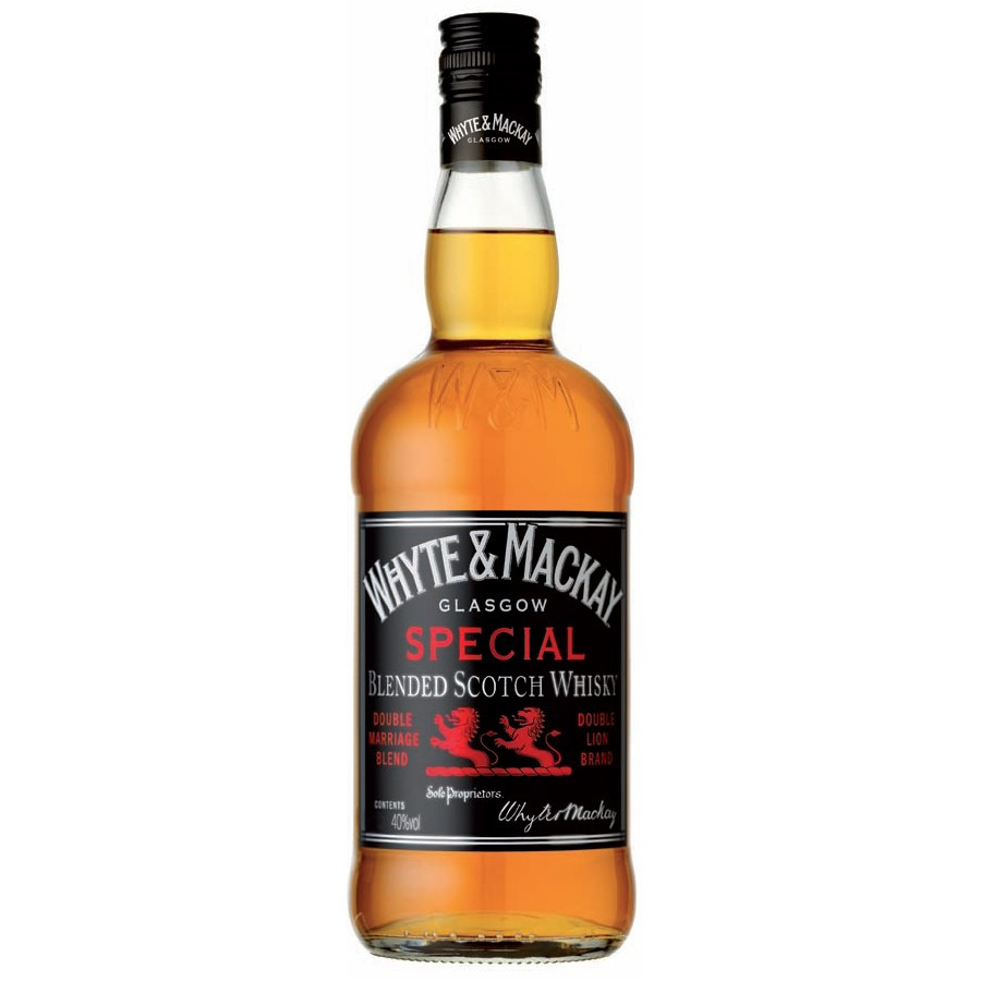 Whyte & Mackay Blended Scotch Whisky 750ML