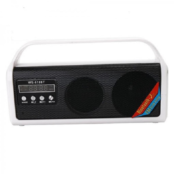WS-618BT Portable Bluetooth Radio Speaker