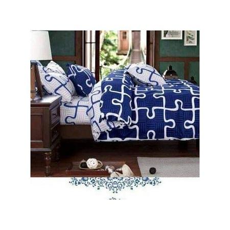 4PC Cotton Duvet 1 duvet 1 bed sheet 2 pillow cases
