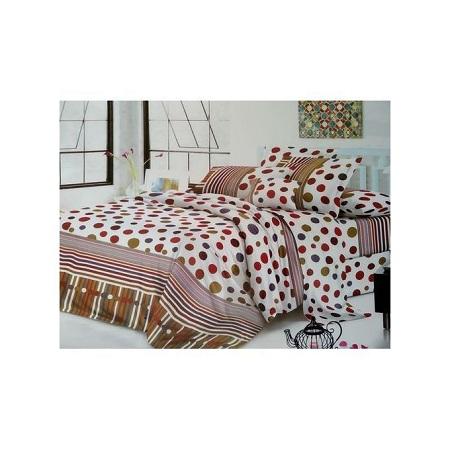 4PC Cotton Duvet 1 duvet 1 bedsheet 2 pillowcases