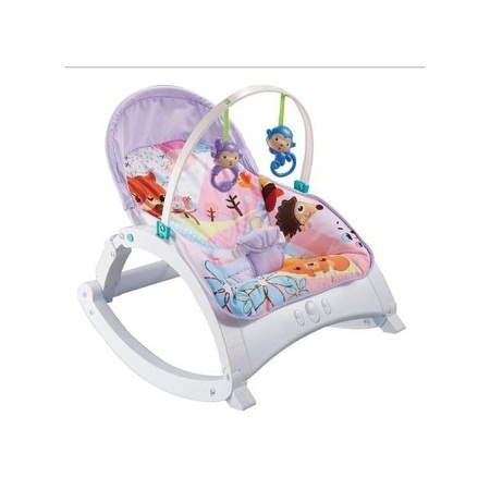 Generic 2 IN 1 Music Toddler Portable Rocker Dining Table Newborn to Toddler WITH MUSIC & VIBRATIONS