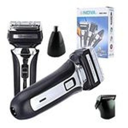Generic Nova NHC-666 3 In 1 Electric Shaving Machine/Shaver black
