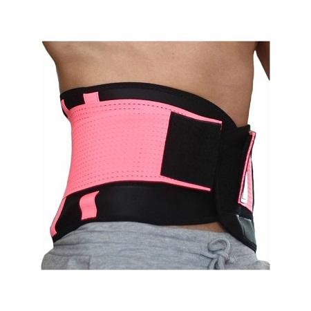 Generic Women And Men Adjustable Waist Slimming Trimmer Braces Exercise Back Corset Belt Waist Support Plus Size Elasticity Lumber Belt