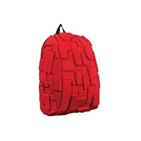 Antitheft Bag With Earphone/Headphone Jack Port-Red