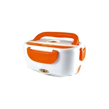 Electric Lunch Box- White & Orange