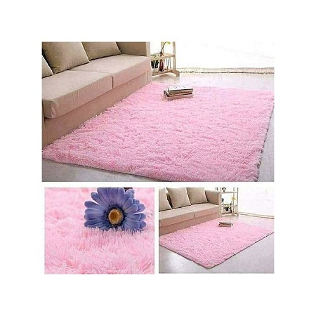 Fluffy Carpet - Pink.