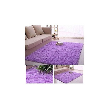 Fluffy Carpet -purple