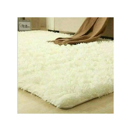 Fluffy Carpet - 5x8 - Off White