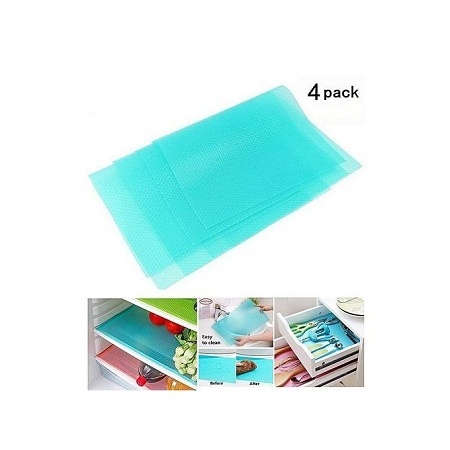 Fridge mats 4 pcs set(blue)