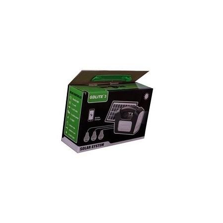 Gdl GD -3 Portable Solar Lighting Home System