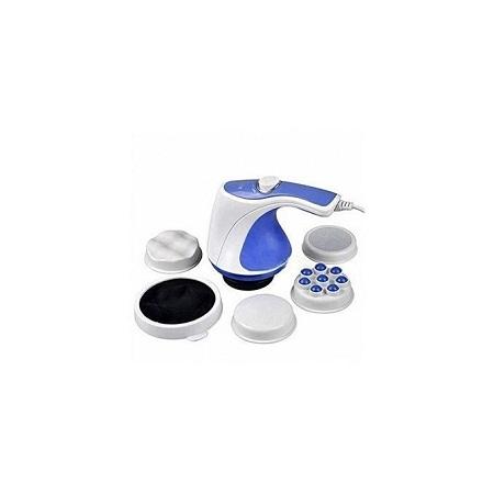Relax & Spin Tone Handheld Body Massager - Purple & White
