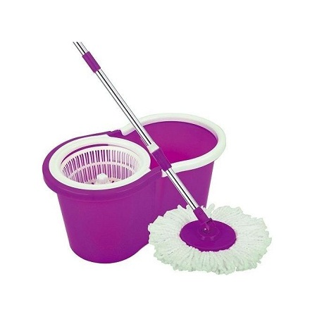 Magic spin mop-Purple.