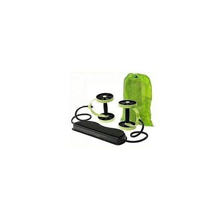 Revoflex Xtreme Abdominal Wheel Ab Roller - Green & Black