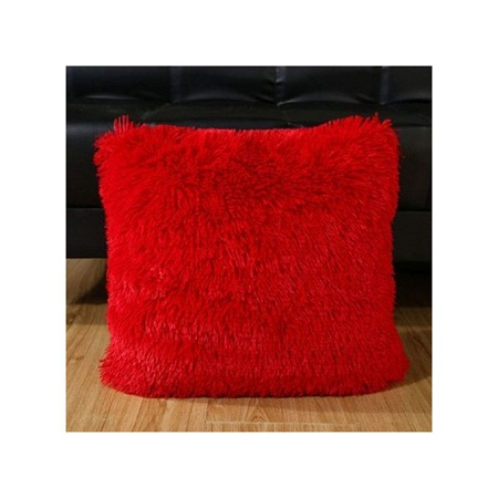 Soft Decorative Pillows for Sofa Fluffy Pillow Case Throw Cushion Cover Decor