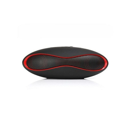 X6 Portable Mini Rugby Shape Wireless Bluetooth Speaker (Black) XYX-K
